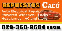 repuestos cacu sosua auto electrical service