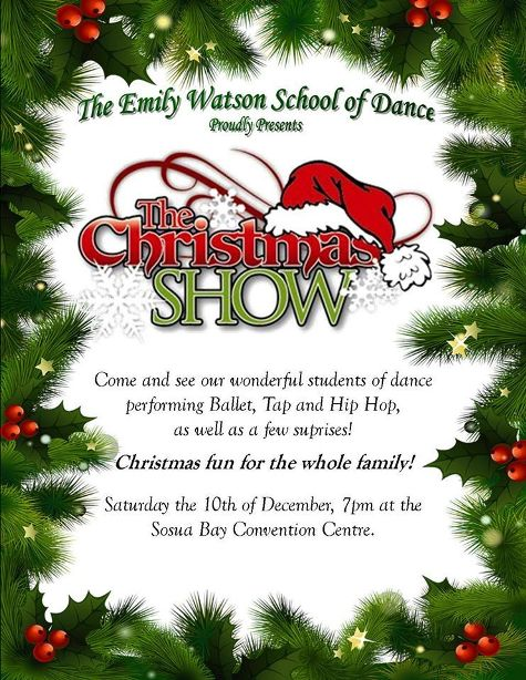 The Christmas Show by Emily Watson School of Dance