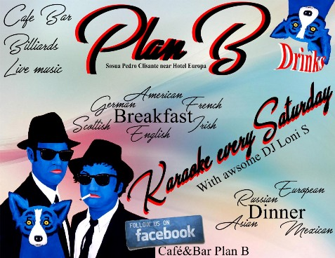 Karaoke night every Saturday at Plan B, Sosua