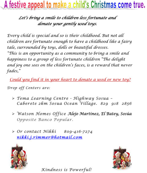 Donate your toys to less fortunate children this festive Christmas season