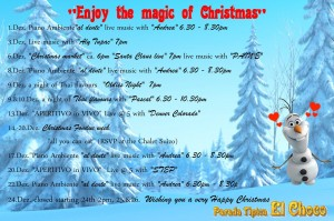 Magic of Christmas Program at Parada Tipica el Choco