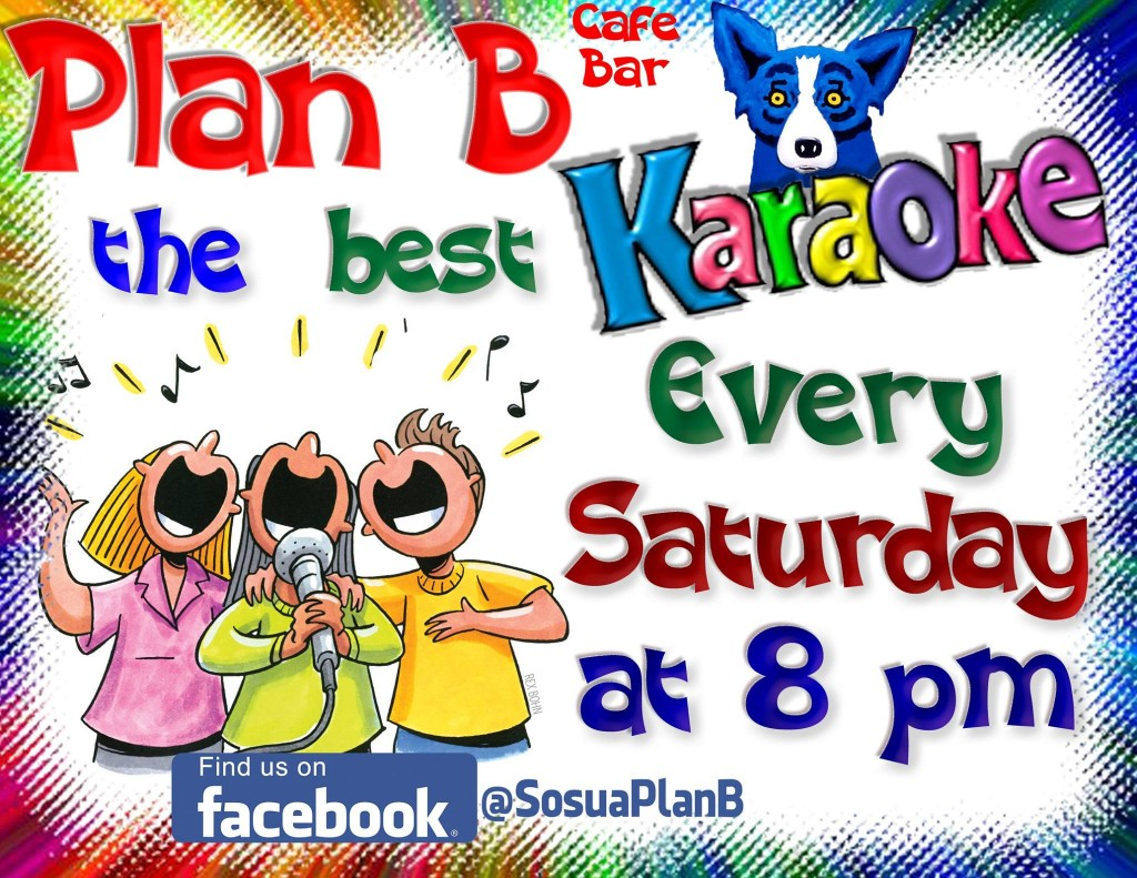 Karaoke Night every Saturday at Plan B