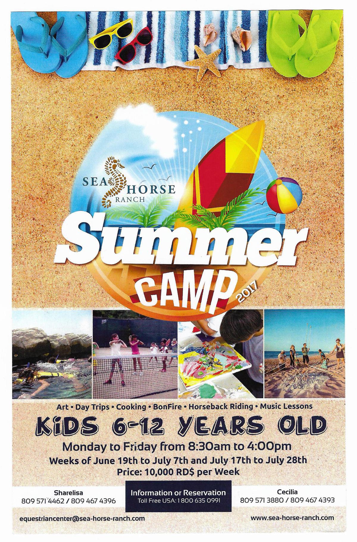 Summer Camp 2017 at Sea Horse Ranch